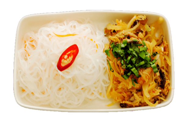 Cellophane noodle with crabmeat